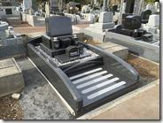 伊東市 天城霊園 石井石材 完成事例  普通墓所 墓石 (1)