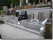 伊豆 伊東市 お墓のことなら石井石材 完成事例 洋型墓石 (1)