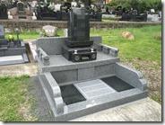 伊東市 お墓のことなら石井石材 オリジナルデザイン墓石 完成事例 (2)
