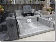伊豆 伊東市 お墓のことなら石井石材 完成事例 洋型墓石 (2)
