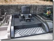 伊豆 伊東市 お墓のことなら石井石材 完成事例 洋型墓石 (3)