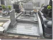 伊東市 天城霊園 石井石材 完成事例  普通墓所 墓石 (4)