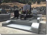 伊東市 お墓のことなら石井石材 オリジナルデザイン墓石 完成事例 (4)