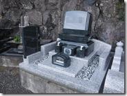 伊豆 伊東市 お墓のことなら石井石材 完成事例 洋型墓石 (4)