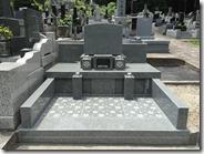 伊豆 伊東市 お墓のことなら石井石材 完成事例 洋型墓石 (5)