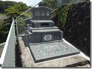 伊豆 伊東市 お墓のことなら石井石材 完成事例 洋型墓石 (6)