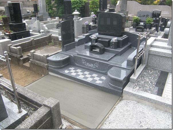 伊東市東伊豆石井石材お墓の完成事例2