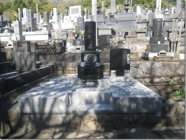静岡東伊豆町のお墓工事なら石井石材へ (1)