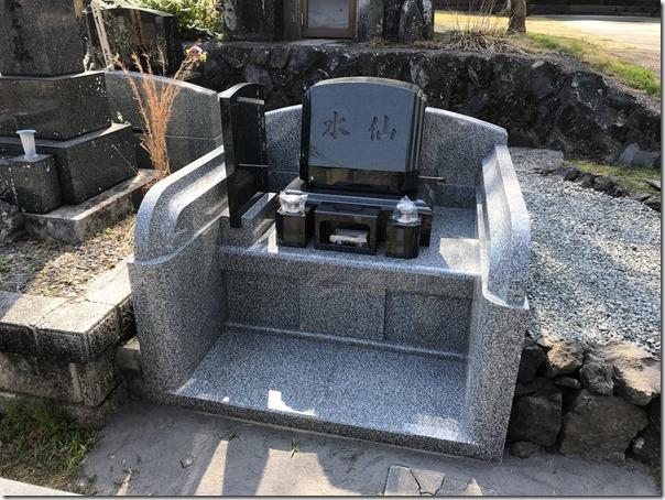 伊東市東伊豆静岡でのデザイン墓石は石井石材へ2