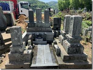 墓所の修理や災害復旧なら静岡伊豆伊東の石井石材へ (1)