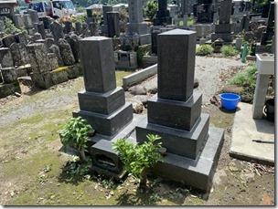墓所の修理や災害復旧なら静岡伊豆伊東の石井石材へ (4)