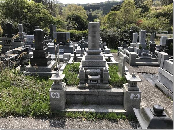 静岡伊豆の墓石石碑リニューアル工事は伊東河津の石井石材へ3