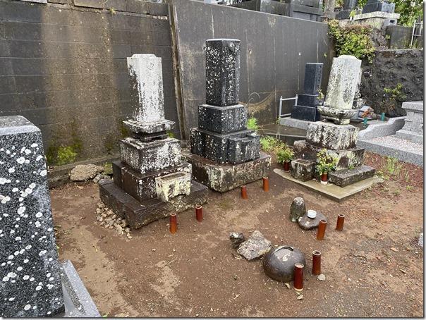 お墓の納骨室カロート工事は伊豆伊東河津静岡の石井石材へ2