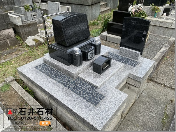 静岡伊豆の墓石石碑リニューアル工事は伊東河津の石井石材へ1